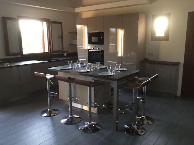 Double Villa Moderne en Bord de Mer (Villa Carla) - Olmeto - Dům
