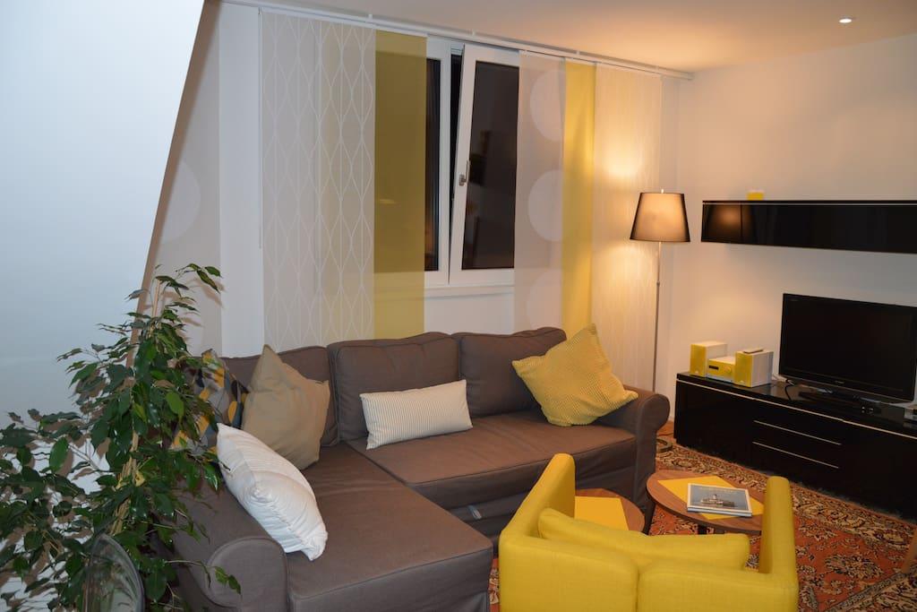 Umwandelbare Sofa
