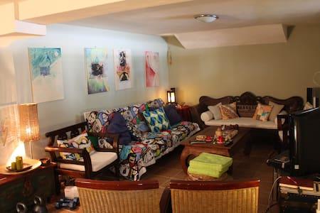 Ανεξάρτητο διαμέρισμα με κήπο - Zevgolatio