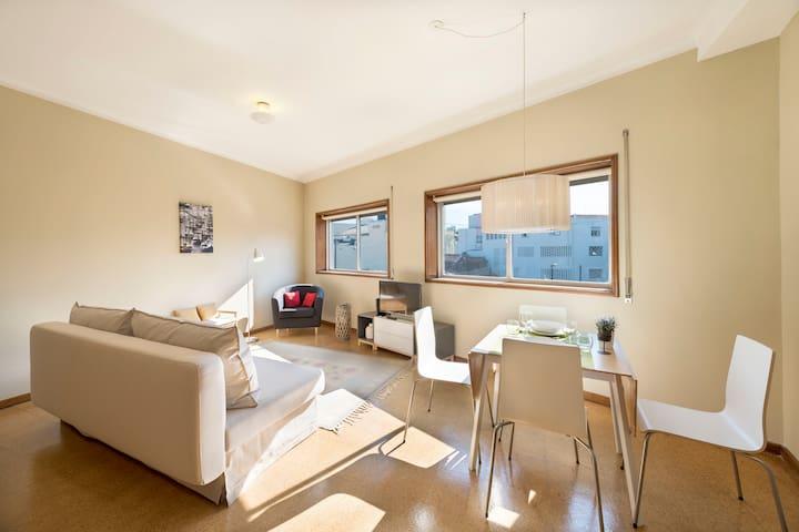 Santa Catarina Light Apartment (N46) NEW!! - Porto - Apartment