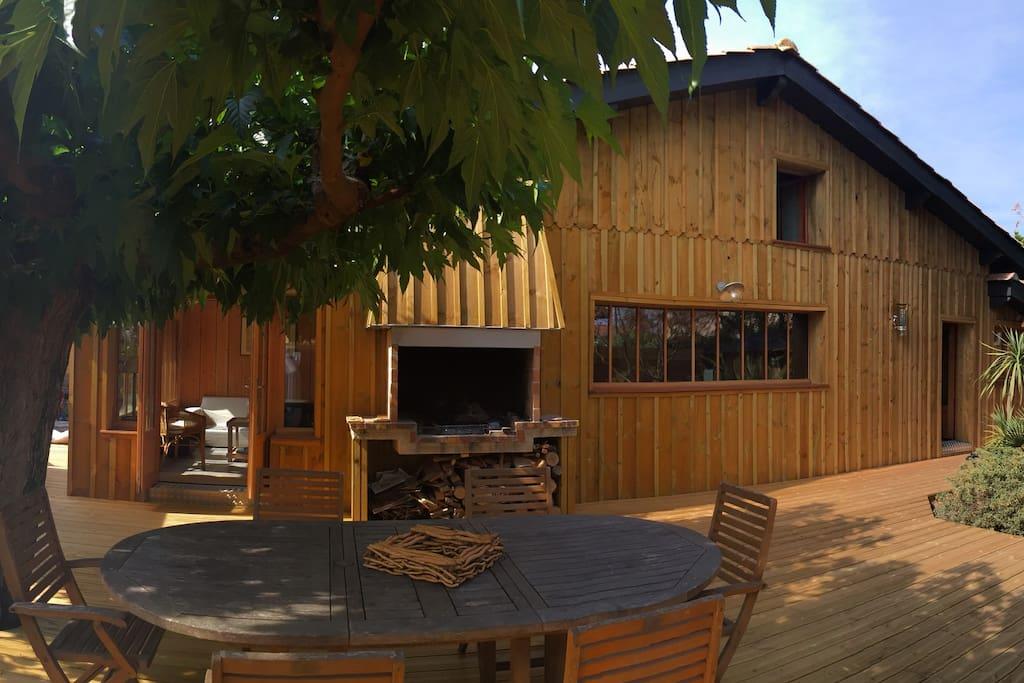 Maison Bois Centre Cap Ferret Maisons Louer L Ge Cap