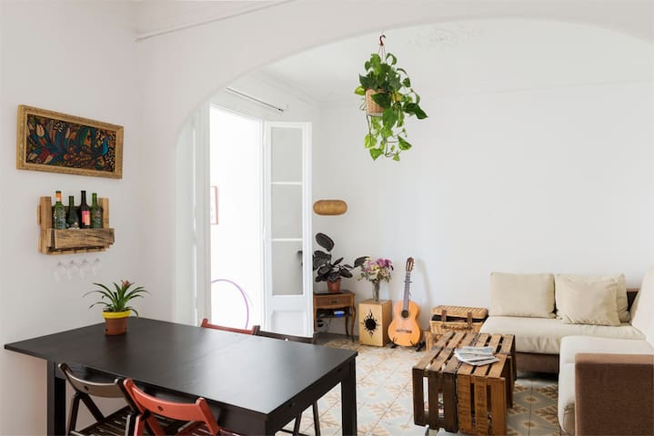 Nice big flat in Gracia/Park - Barcelona - Apartment