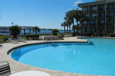 Relaxation on Santa Rosa Sound - Appartement en résidence