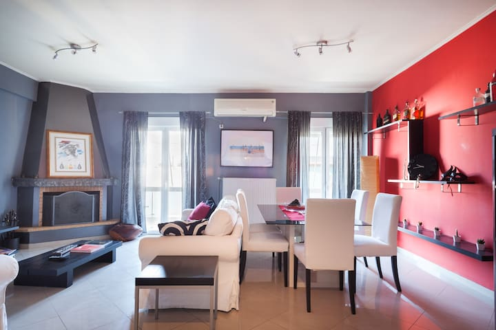 modern, spacious & cosy apartment - Athina