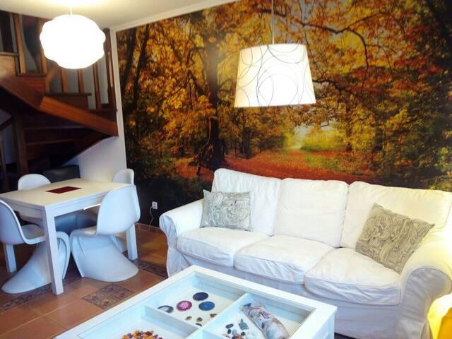 Duplex a 10' de Santiago, acogedor - Bertamirans-Ames, A Coruña - Apartment