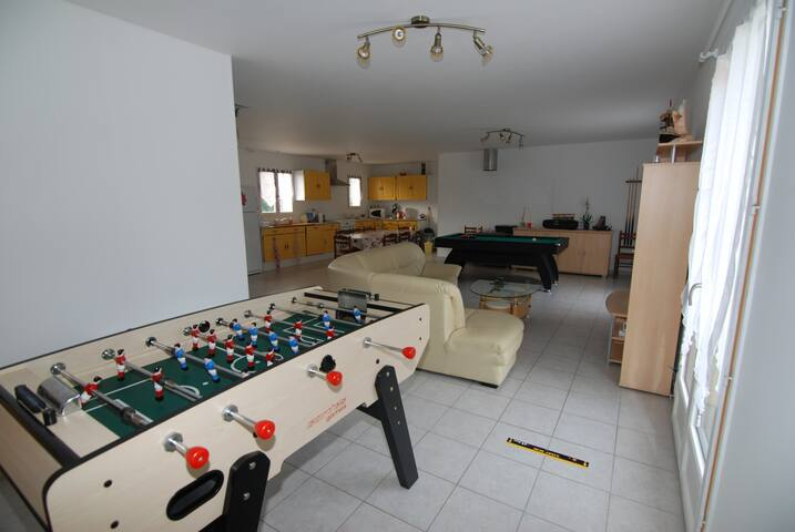 1 chambre meublée (2) - Neuvy-sur-Loire - บ้าน