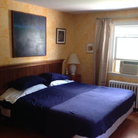 Comfortable Master Bedroom Suite