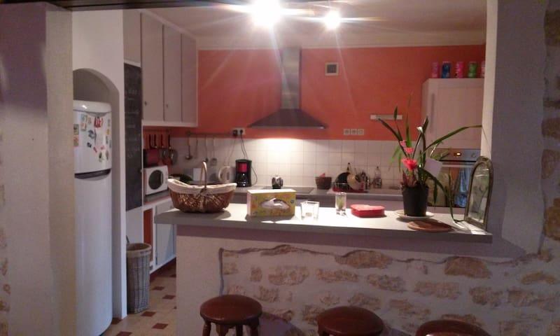 Maison avec son petit jardin - Valognes - Casa