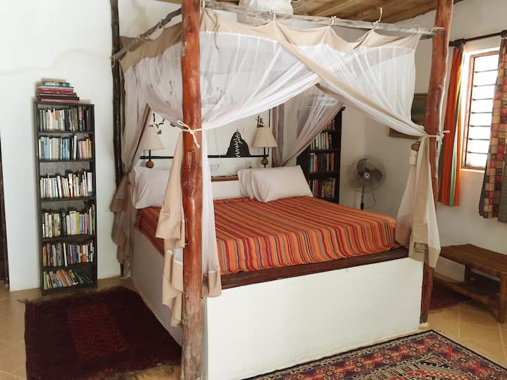 Utupoa Lodge, Kusi bedroom