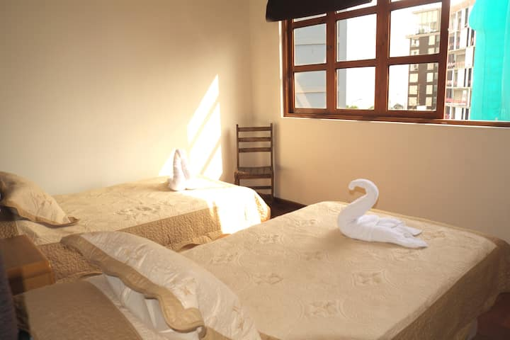 HABITACION TWIN (2 camas) con vista
