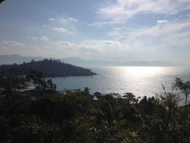 Apto com piscina e vista para o mar - Pôrto Belo - Apartament