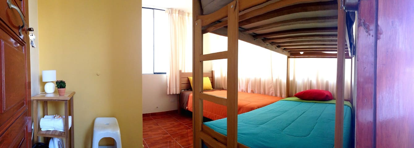 Cozy 3BR secure n close to LIM Apto - Callao - Leilighet