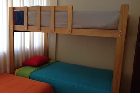 MB Habitaciones! Cozy, safe and close to LIMA Apto