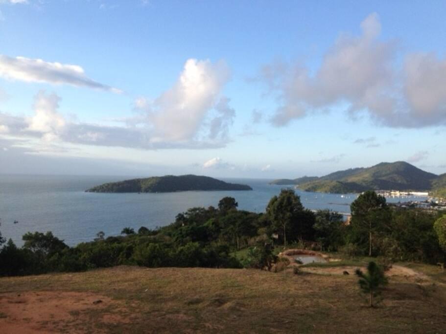 Vista da Ilha de Porto Belo