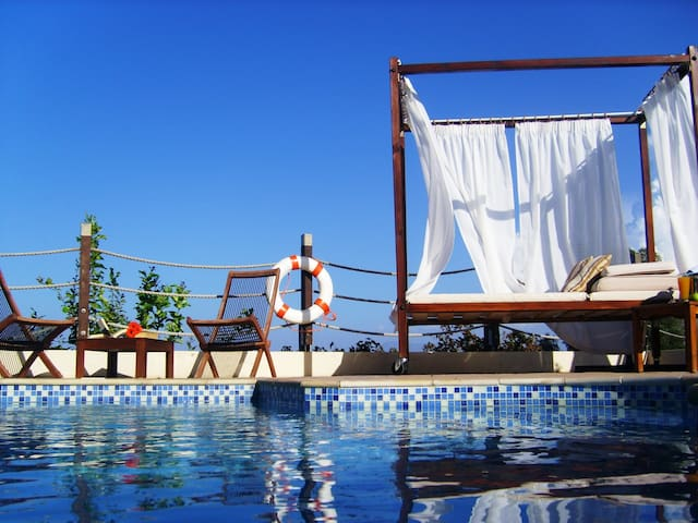 Mediterranean Blue Villa