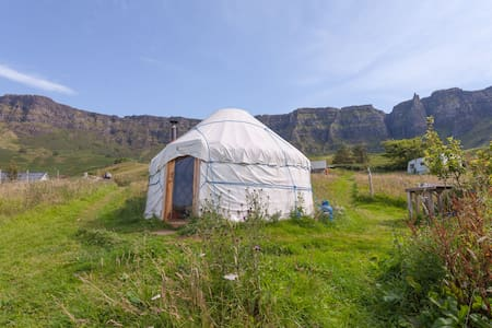 Yurting on stunning Isle of Eigg  - Isle of Eigg