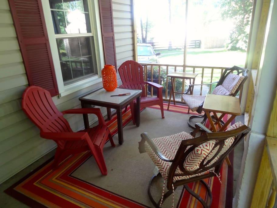 New patio creates peaceful living area outside