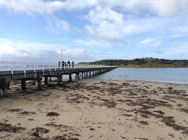 Granite Island the  magic home of Fairy Penguins - 15mins walk