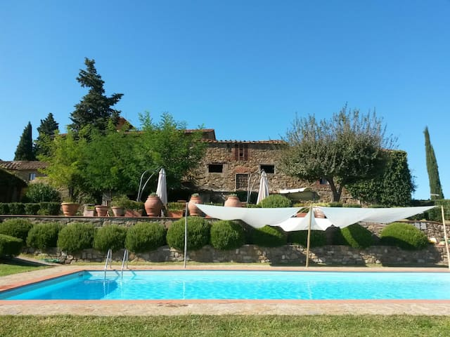 Diana Home - 4 people+1 child - Greve in Chianti - Pis