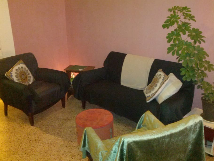 The common living room
