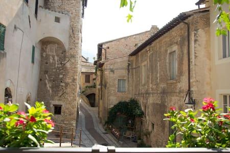 Accogliente camera, Trevi (Umbria) - Trevi - House