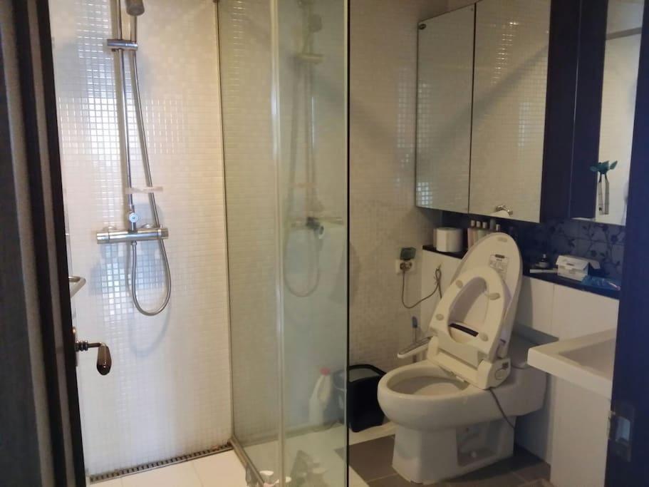 게스트가 사용하는 화장실