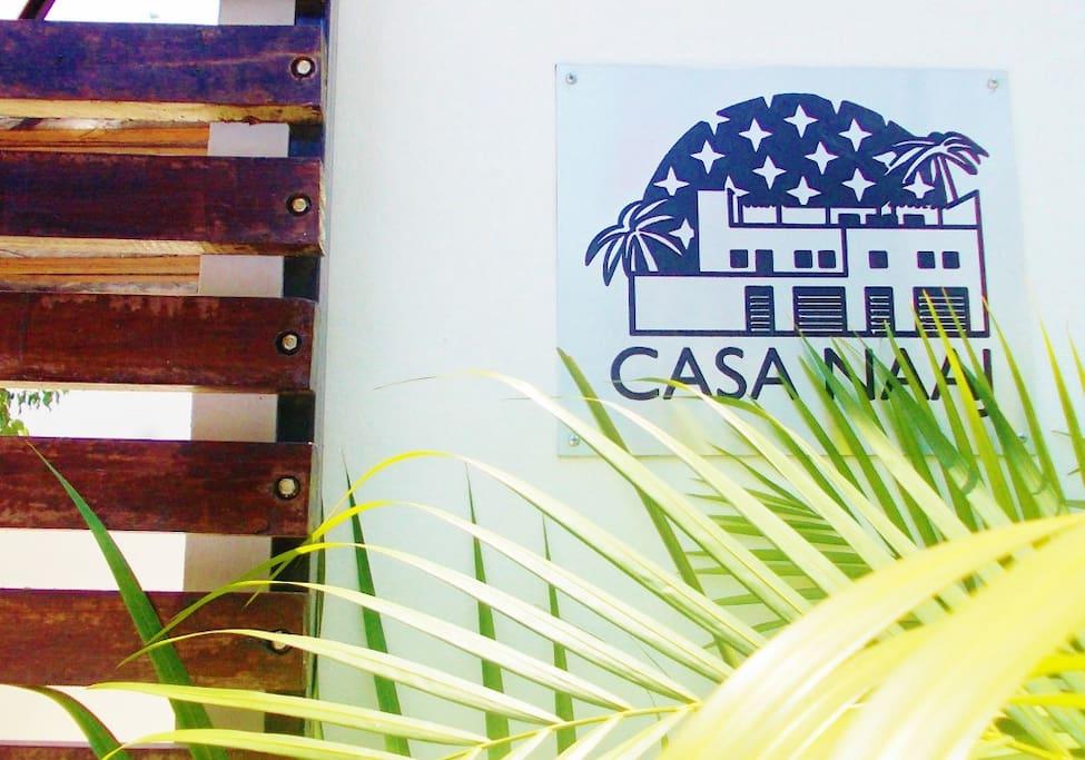 CASA NAAJ APARTMENTS: Entrance