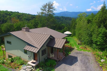 Post&Beam Home with Mountain View - Waitsfield - Talo