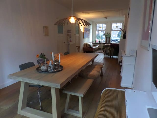Charming spacious House with garden - Rotterdam - House
