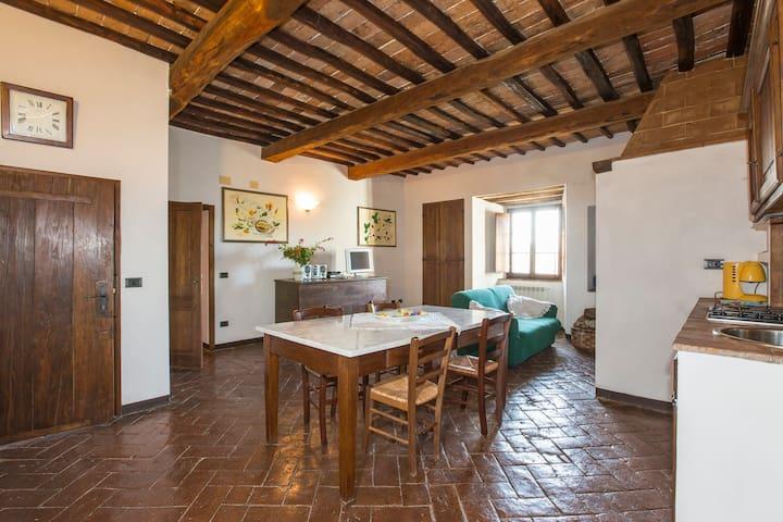 Near Siena, Apartment Ginestra! - Castello di Tocchi - Apartment