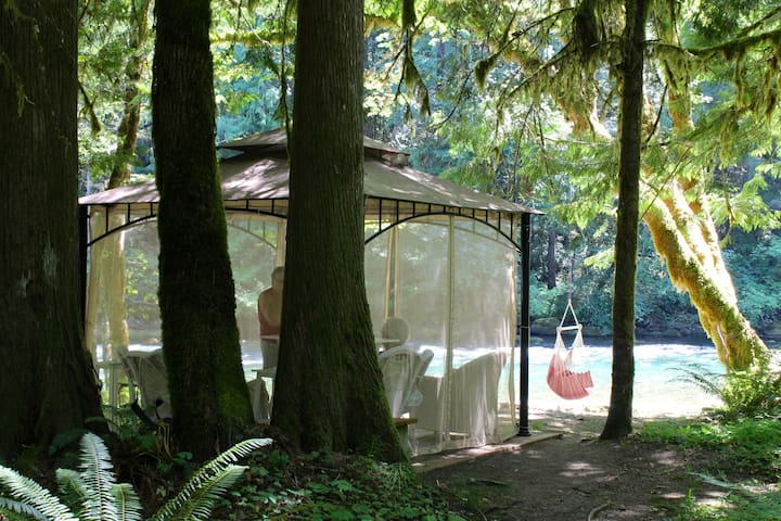 MCKENZIE RIVER GAZEBO -REOPENS MAY 25!!