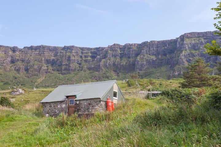 Cleadale Bothy on Isle of Eigg