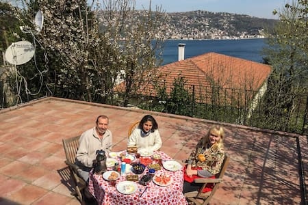 Terrace, Patio and Bosphorus! Perfect for parties! - Sarıyer - Villa