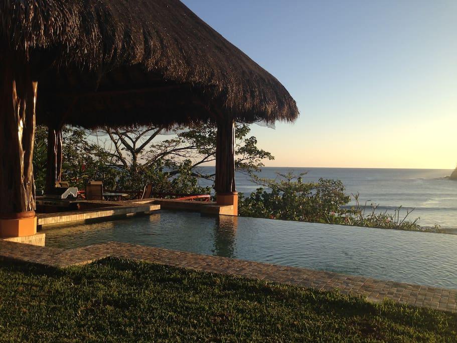 beautiful airbnb beach villa in costa rica