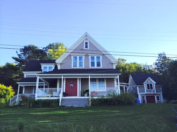 Southshore Riverfront Historic Home.