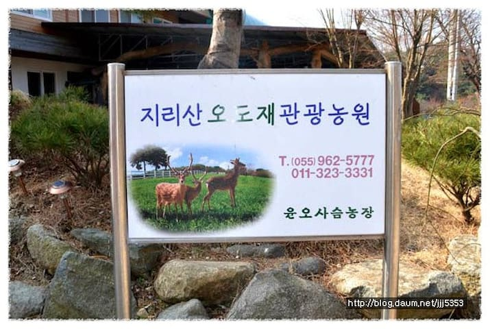 지리산 관광농원 - Macheon-myeon, Hamyang - Villa
