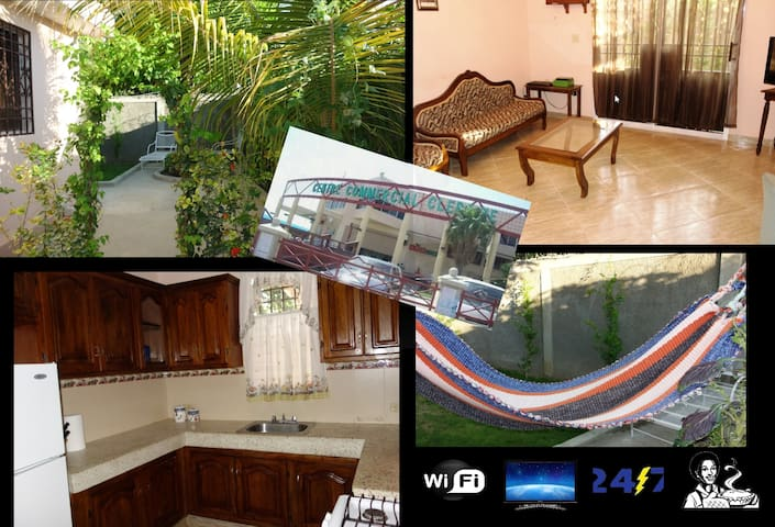 Villa,4 bedrms upto 8 travelers - Laplaine - House