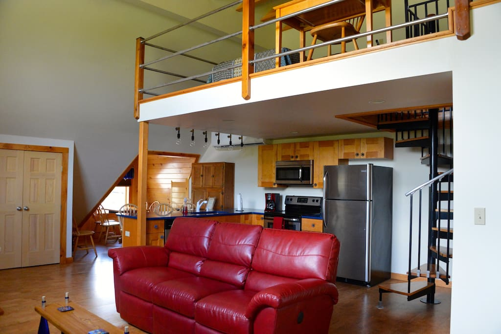 The windham loft loft in affitto a windham new york for Loft in affitto new york