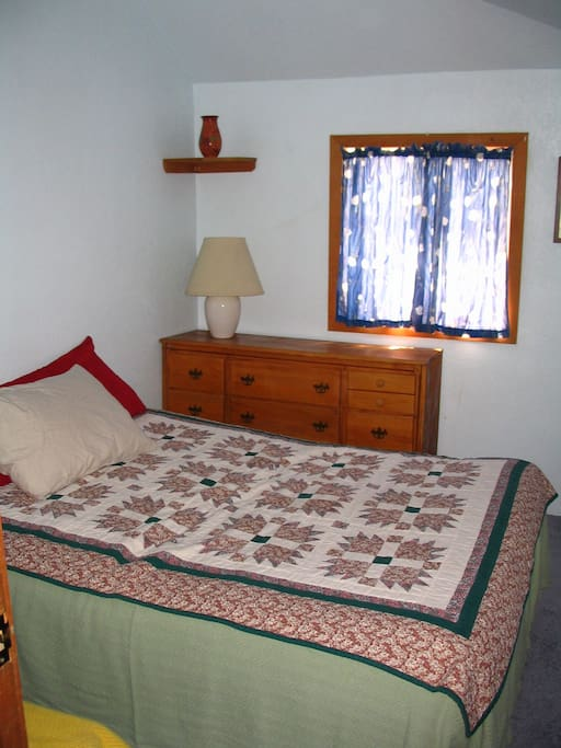 Private room with full size bed sleeps two.