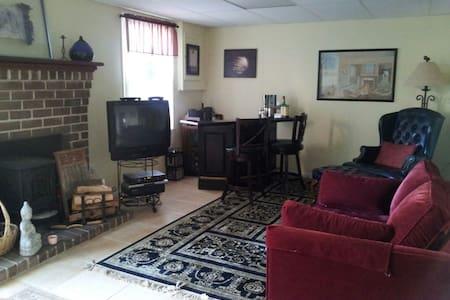 Semiprivate basement accommodation