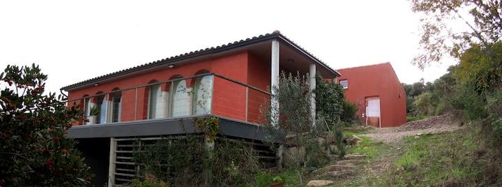 Villa d'Architecte avec piscine et vue imprenable