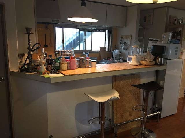15mins to shinjuku/music room/wifi - Setagaya-ku - Apartamento