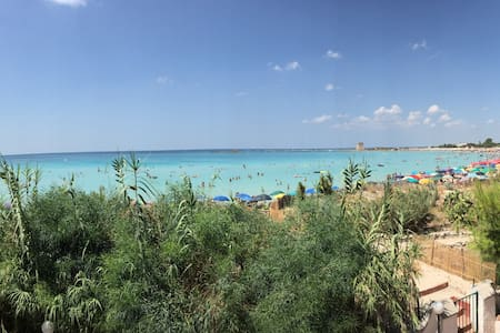 Splendida villa sulla spiaggia - Scala di Furno