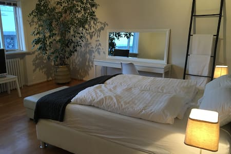 Luxury and spacious room close to the old harbor - 雷克雅維克(Reykjavík) - 公寓
