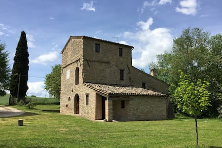 Casa Torre - Apt Leccino - Treia - 公寓