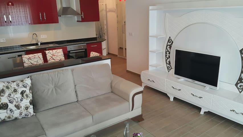 Modern 1+1 apartment - Avsallar mahallesi - Byt