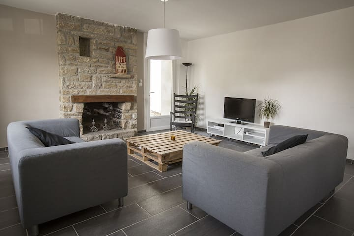 Maison Bretonne - Bourg côté plages - Carnac - Hus
