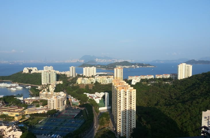 Sea + City view at Lantau Island - Hong Kong - Apartemen