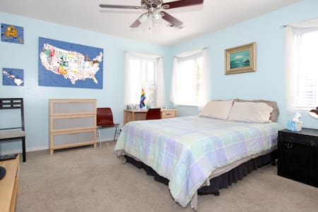 Private bedroom & bath on the park - San Diego - Bed & Breakfast