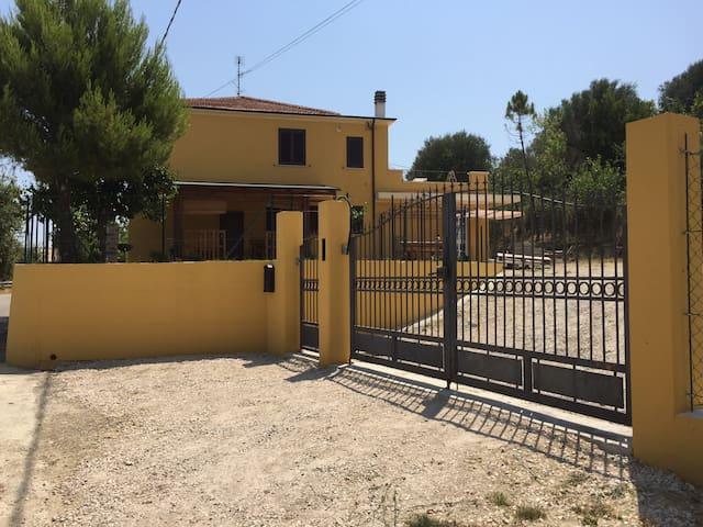 La casa di campagna Sole Terra Mare - Colle Vraddo - Villa